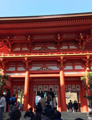 近江神宮初詣
