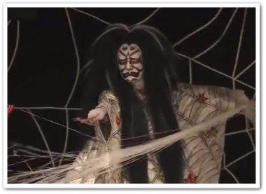 坂東玉三郎、蜘蛛の拍子舞