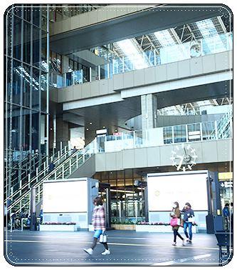 JR大阪駅、ステーションシティ、アトリウム広場