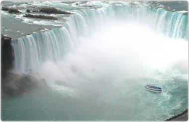 なるほど、ナイアガラ、滝
