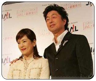 中村雅俊、五十嵐淳子、夫妻