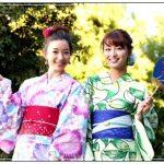 ドラマ「ひとパー」で桐谷美玲・ブルゾンちえみ・足立梨花・岡崎紗絵が着た浴衣のブランドは?