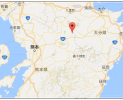 熊本、地震、震源地