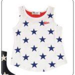 カンナさーん2話衣装、麗音が着用している星柄タンクトップのブランドは?