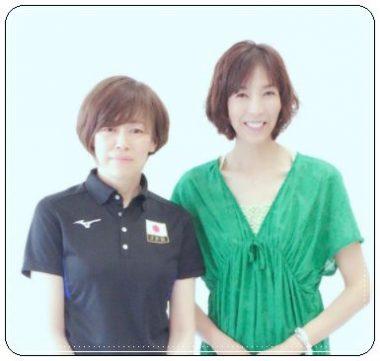中田久美、大林素子、バレーボール選手