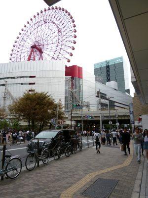 梅田駅周辺、観覧車