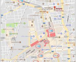 梅田芸術劇場、地図、行き方