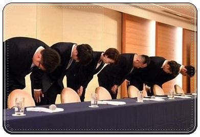 バスケ日本代表、謝罪、不祥事