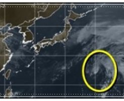 台風26号の兆し